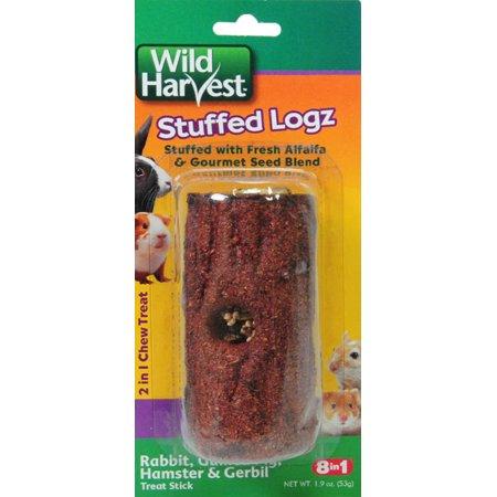 (2 Pack) Wild Harvest Edible Log Stuffer Treat Stick for Small Animals