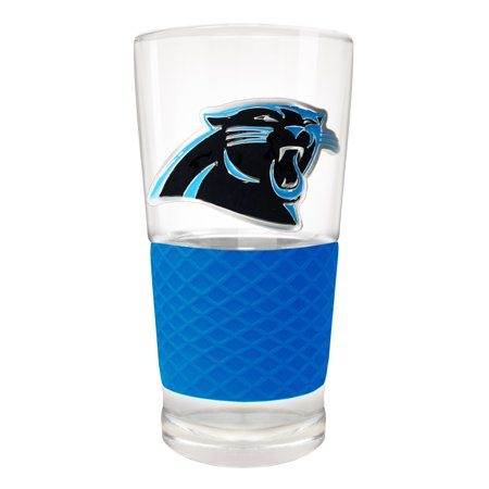 - Carolina Panthers 22oz. Pilsner Glass with Silicone Grip - No Size