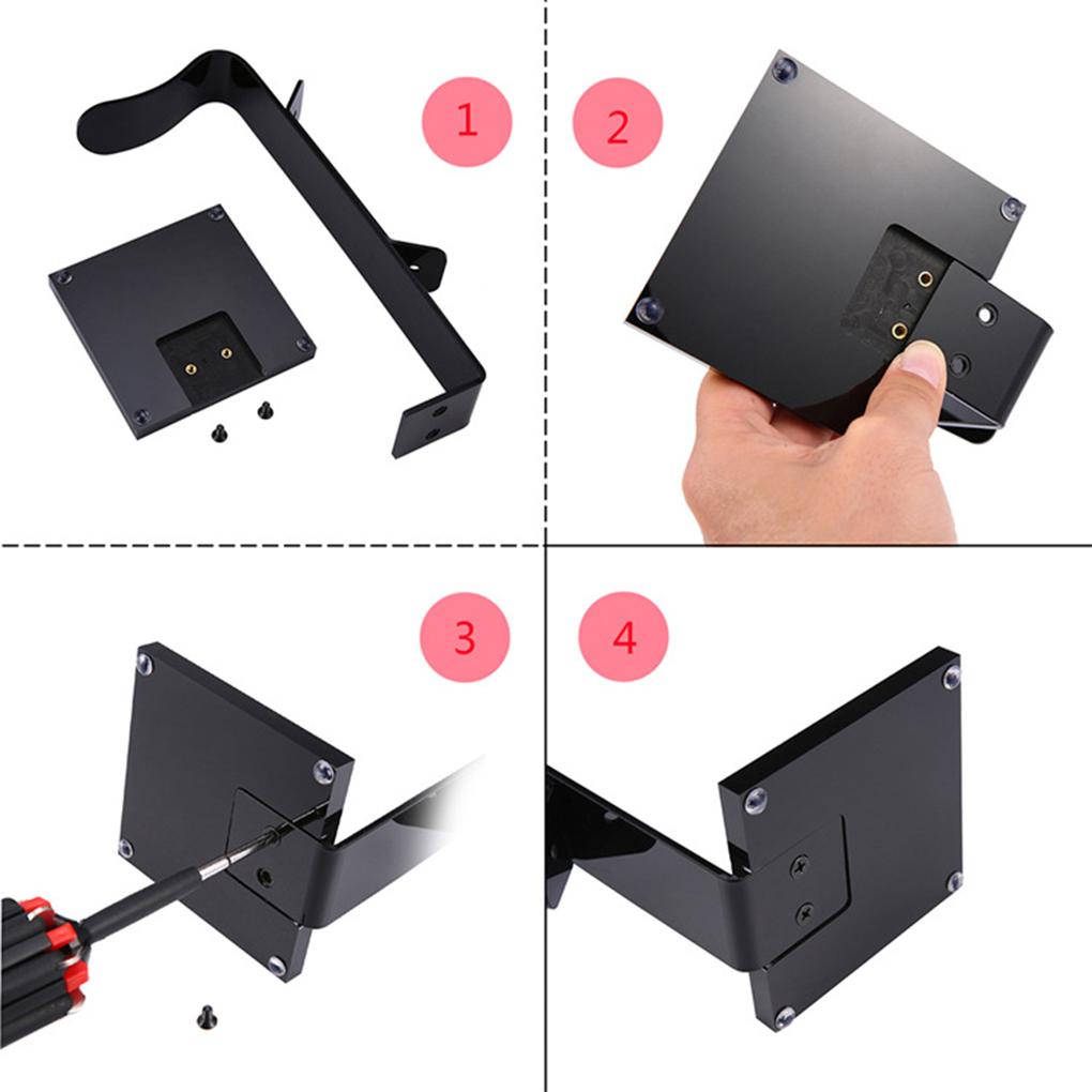 Universal Headphone Display Stand Acrylic Headset Hanger Gaming Earphone Holder