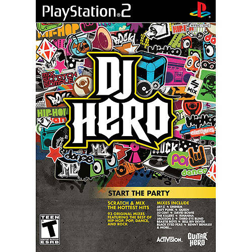 DJ Hero - Game Only (PS2) - Pre-Owned