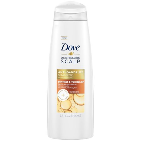 Dove Dermacare Scalp Dryness & Itch Relief Anti-Dandruff Shampoo, 12
