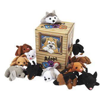 Mini Bean Bag Dog Pound Assortment - Novelty Toys & Plush Toys Mini Bean Bag Dog Pound Assortment - Novelty Toys & Plush Toys