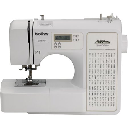 Brother 100 Stitch  Rce1100prw Refurbished Computerized Sewing Machine