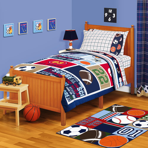 American Kids All Stars Twin/Full Reversible Comforter
