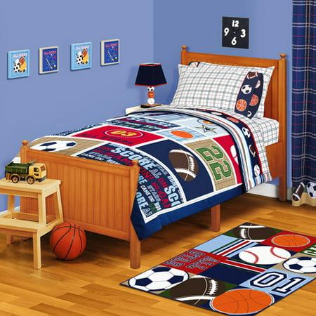 American Kids All Stars Twin Or Full Reversible Comforter
