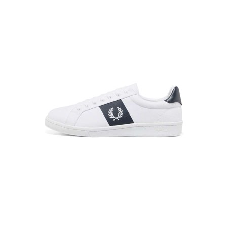 Fred Perry Men B721 Canvas Sneakers (Fred Perry Canvas)