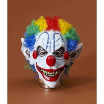 Vintage Clown Mask (SINISTER MISTER CLOWN MASK)