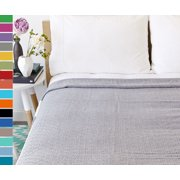 "Swan Comfort Turkish Cotton Quilt Bed Spread Blanket Bed Cover for All Season ( 98"" X 77.5"" )"