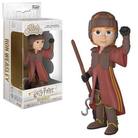 Funko Pop! Rock Candy: Harry Potter - Ron in Quidditch Uniform