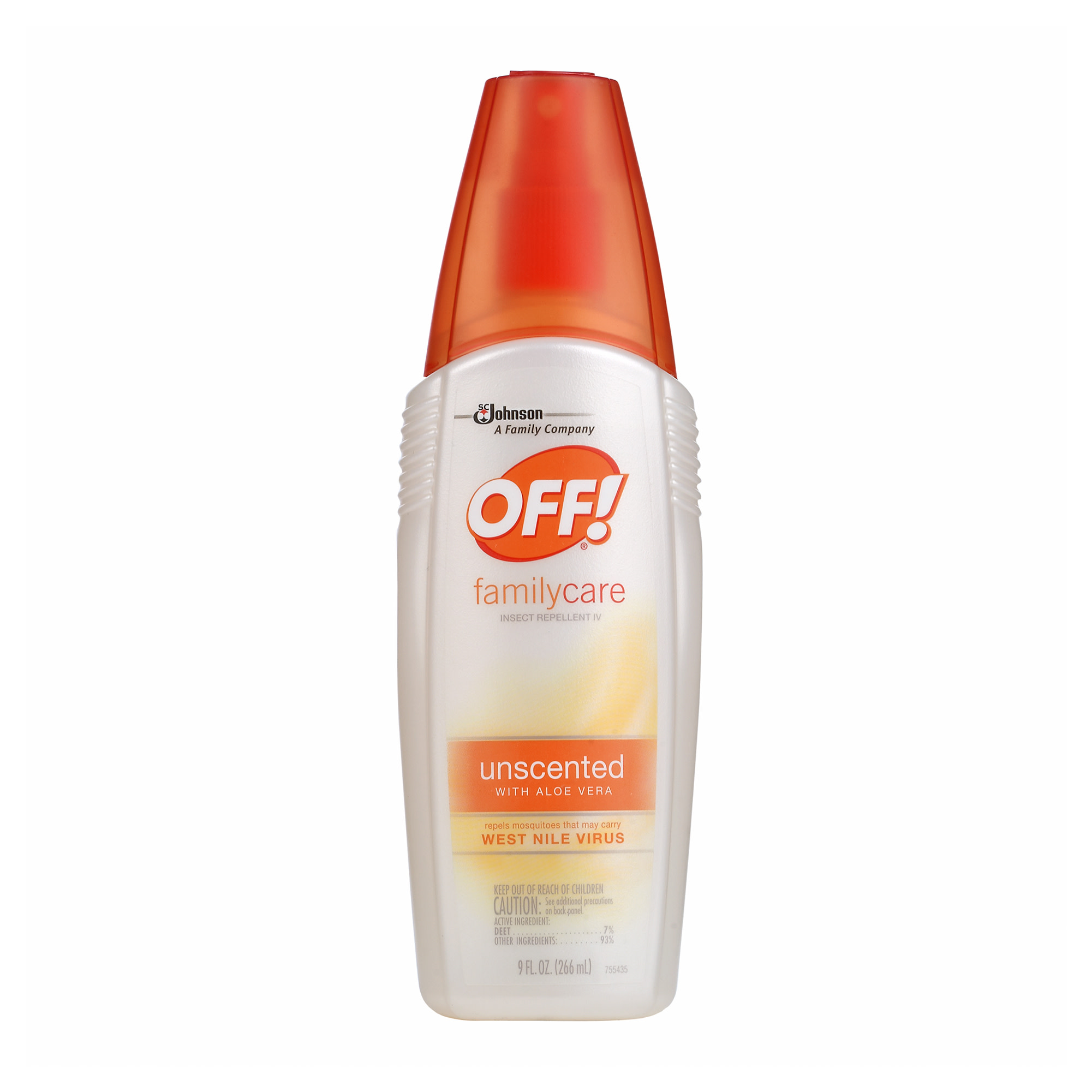 OFF! FamilyCare Insect Repellent IV, Unscented, 9 Ounces, 1 count