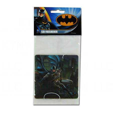 Officially Licensed Dc Comics Hanging Air Freshener   Batman New Car Scent  Officially Licensed Product By Cd Visionary