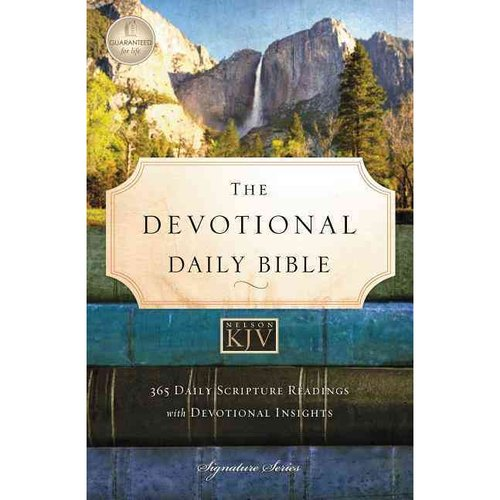 The Devotional Daily Bible: King James Version