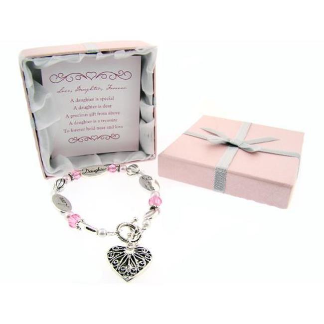 Bulk Buys Love  Daughter  Forever Expression Bracelet - Pack of 3