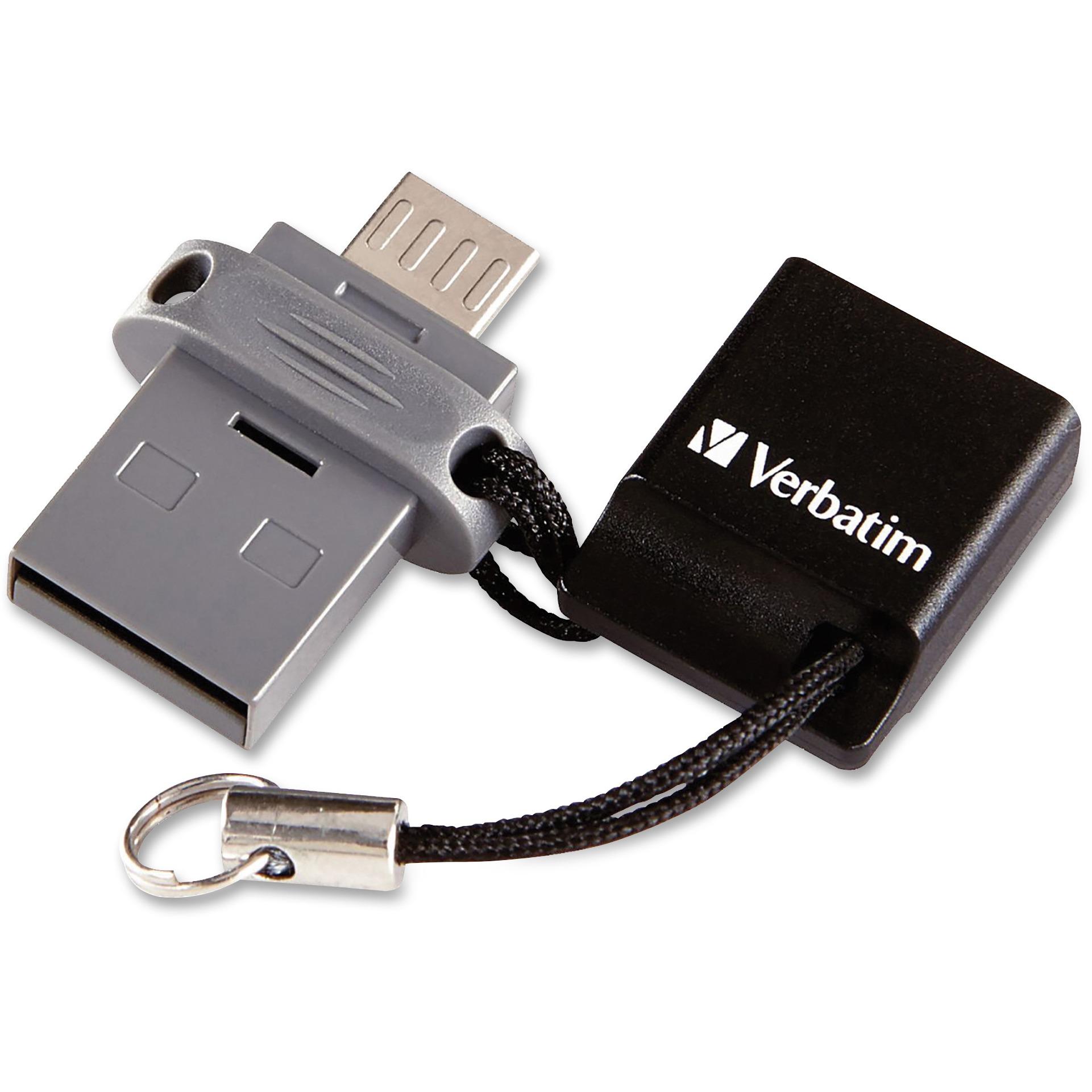 Verbatim, VER99139, 32GB Store 'n' Go Dual USB Flash Drive, 1 Each