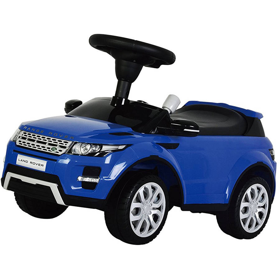 Land Rover Range Rover Evoque Ride-On with Sound, Blue
