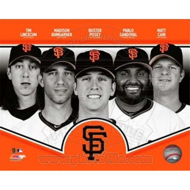 Photofile PFSAAPP19601 San Francisco Giants 2013 Team Composite Sports Photo - 10 x 8