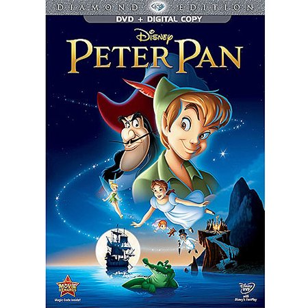 Peter Pan (Diamond Edition) (DVD + Digital Copy) (Full (Peter And The Wolf Disney Cartoon Full)