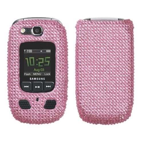 Insten Pink Diamante Case Cover Diamante 2.0 For Samsung U660 Convoy 2