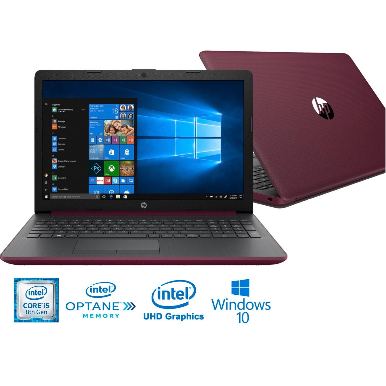 "HP 15-DA81 Intel i5-8250U 8GB+ 16GB Intel Optane 1TB HDD 15.6"" HD WLED Laptop (Refurbished)"