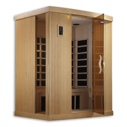 Golden Designs Inc. 3 Person FAR Infrared Sauna by Geopot