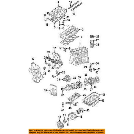 Jeep CHRYSLER OEM 05-06 Liberty Crankshaft Crank-Thrust