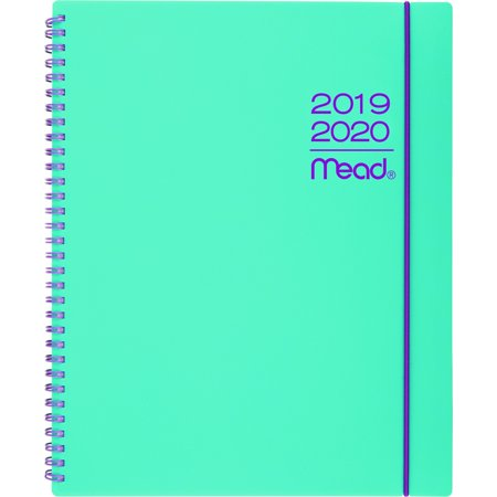 Mead Color Pop Large Weekly/Monthly Planner, 8 1/2