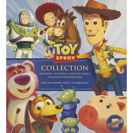 The Toy Story Collection (Audiobook) - Toy Story Font