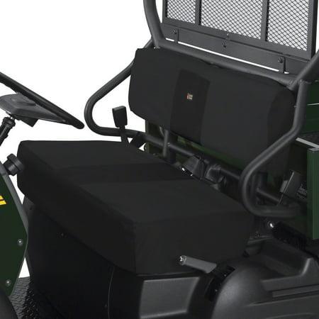 Kawasaki Studded Seat Covers (Classic UTV Bench Seat Cover Kawasaki Mule 600 610 Black )