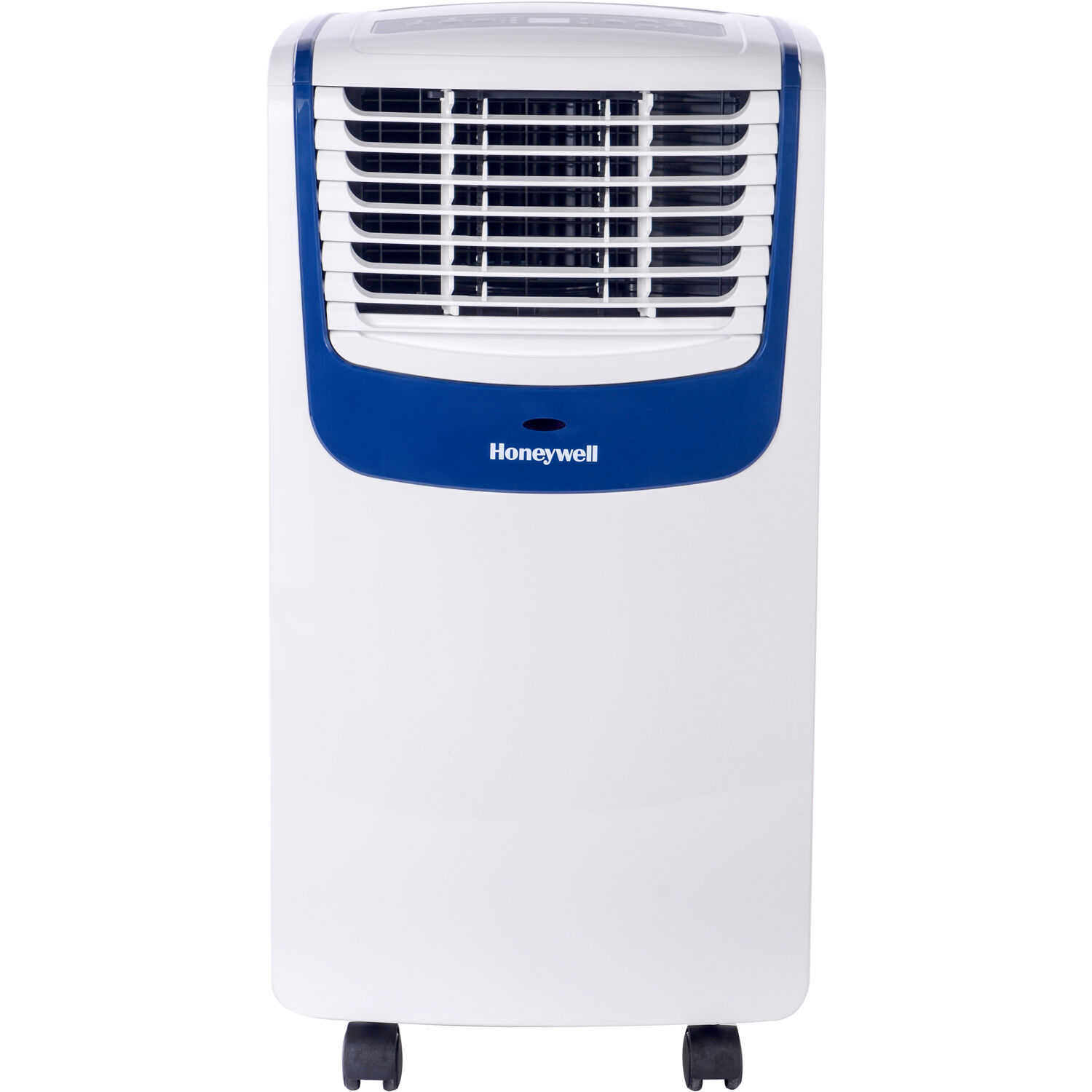 Honeywell MO Series Compact 3-in-1 Portable Air Conditioner with Remote Control for Rooms up to 350 Sq. Ft. in White/Blue
