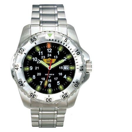 Uzi Defender Swiss Tritium Watch W Titanium Case And Strap   Uzi 32 T