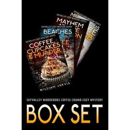 Sky Valley Murderous Coffee Crumb Cozy Mystery Box - Halloween Crochet Coffee Cozy