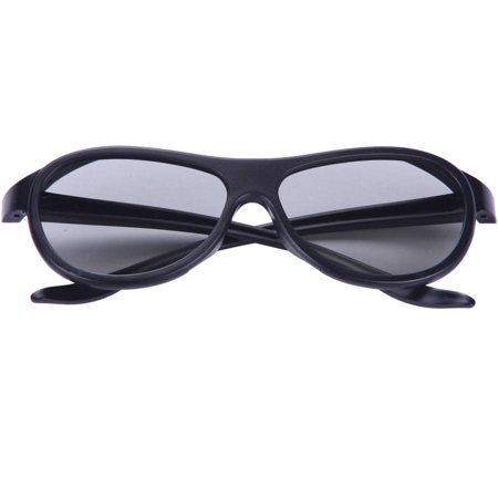 Inland Products ProHT 05510 3D Glasses, Black/Black