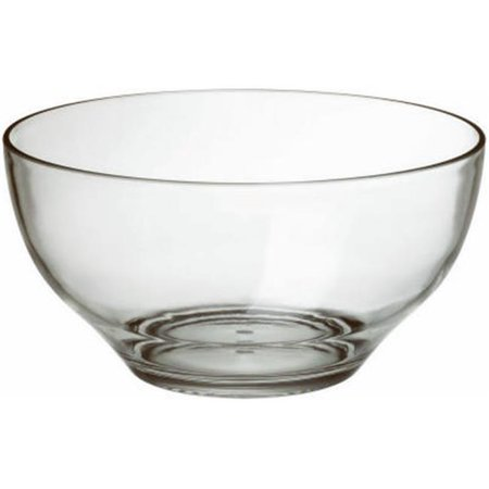 MJ1MB-1-0 5 in. Acrylic Double Wall Individual Serving Bowl - Pack Of (Acrylic Bells)