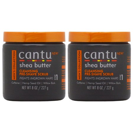 bcf96136773c Cantu Shea Butter Men's Collection Cleansing Pre-shave scrub 8oz