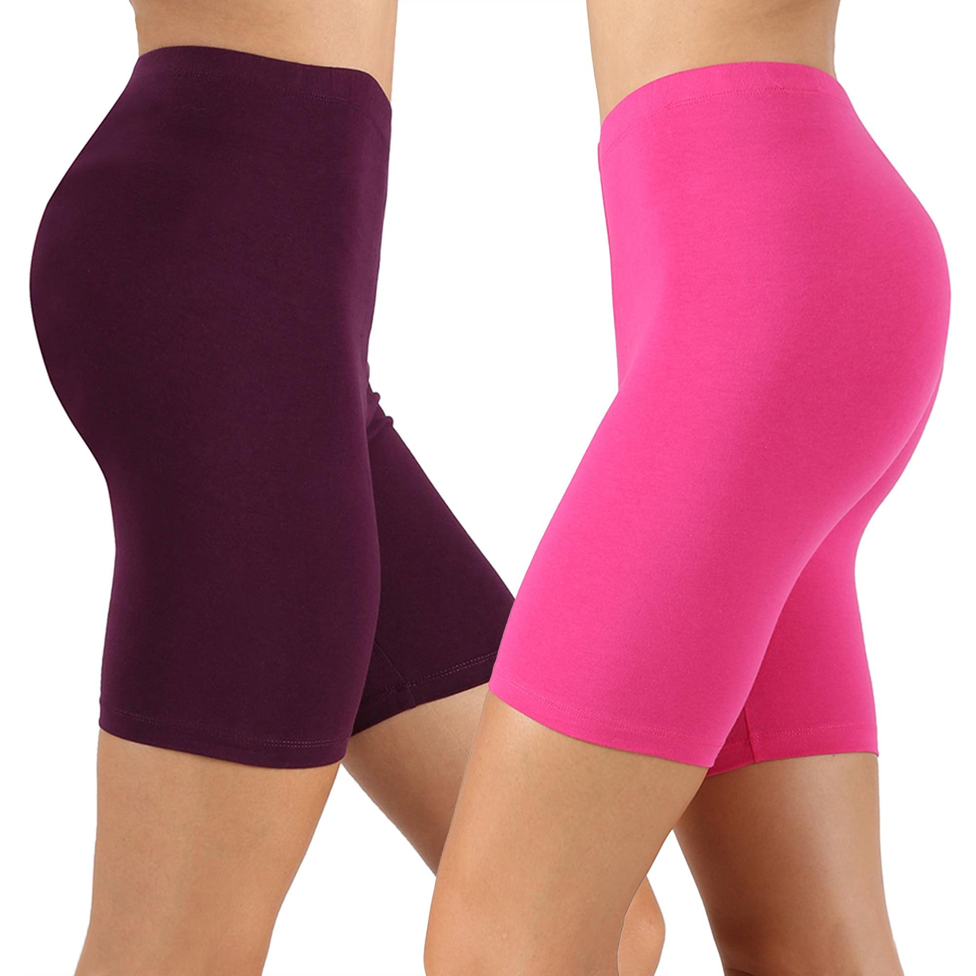 by Ren/é Rof/é Womens Shapewear Slip Shorts Nylon Spandex Stretch Shaping Shorts F.I.T 3-Pack Bikeshorts