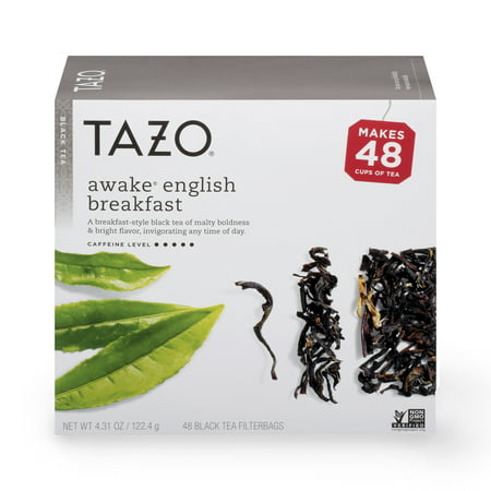 Tazo Awake English Breakfast Black Tea Filterbags (48 (Best English Breakfast Tea)