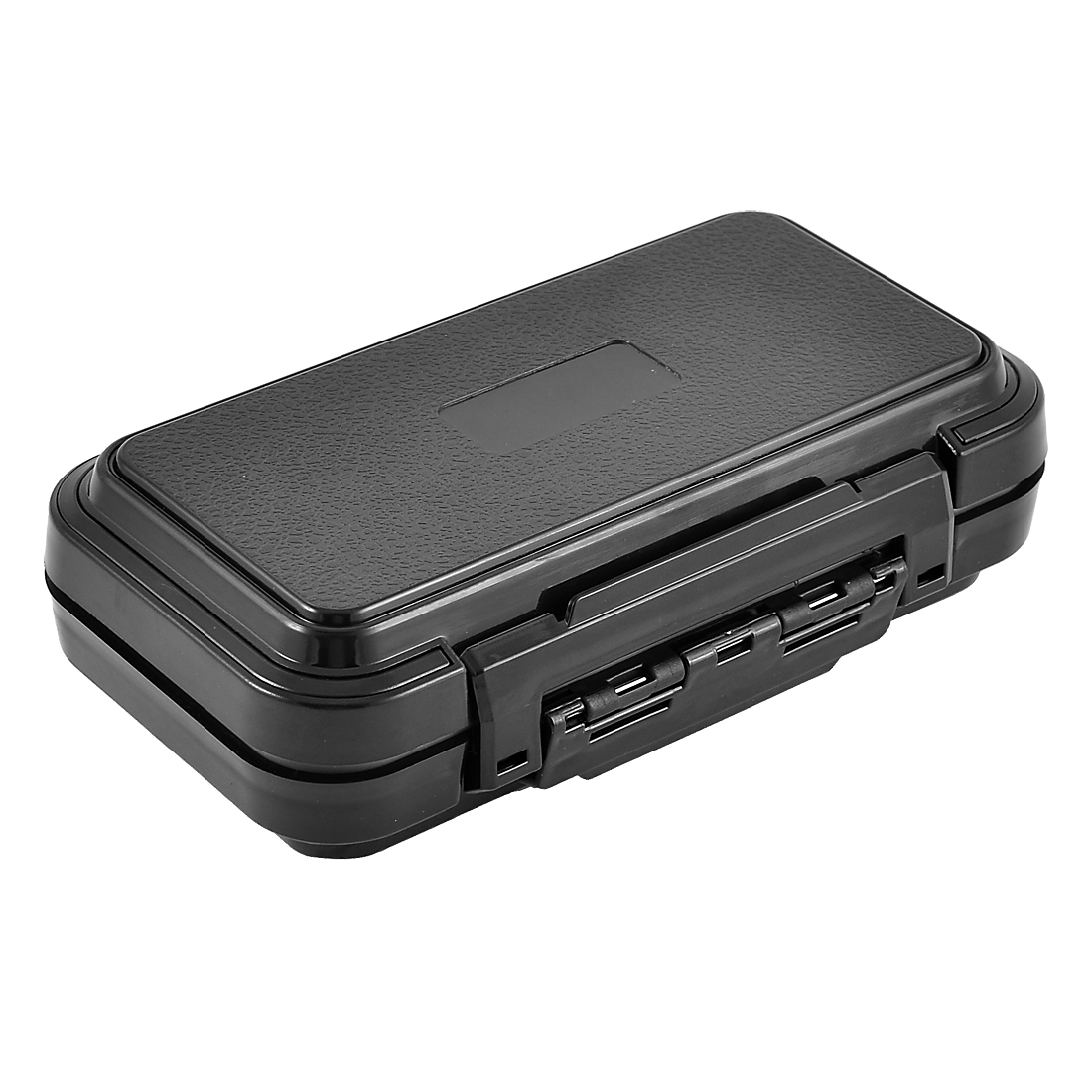 Fishing 16 Compartments Fish Hook Bait Storage Box Case Holder Black