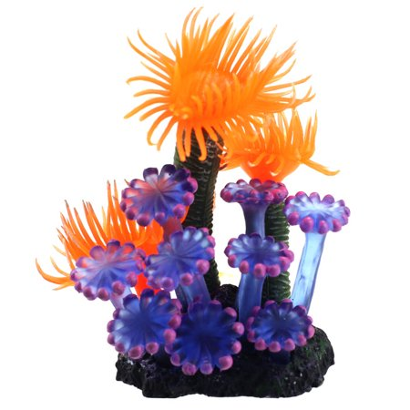 Outtop Home Soft Artificial Resin Coral Fish Tank Aquarium Lovely Decoration