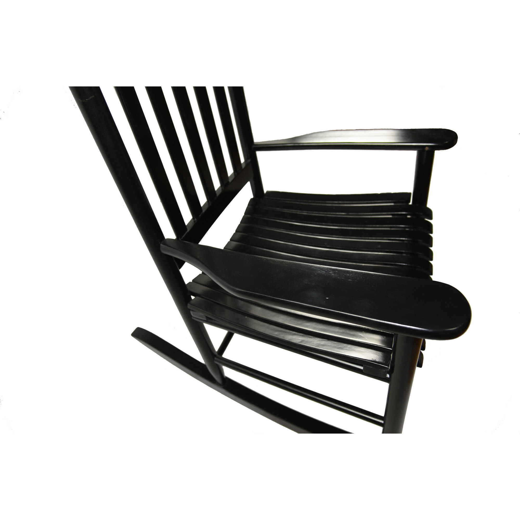 Enjoyable Mainstays Outdoor Wood Rocking Chair Creativecarmelina Interior Chair Design Creativecarmelinacom