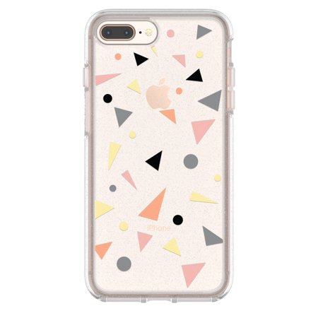 san francisco 4d141 dc5dd OtterBox Symmetry Series Clear Graphics Case for iPhone 8 Plus and iPhone 7  Plus, Confetti Pop