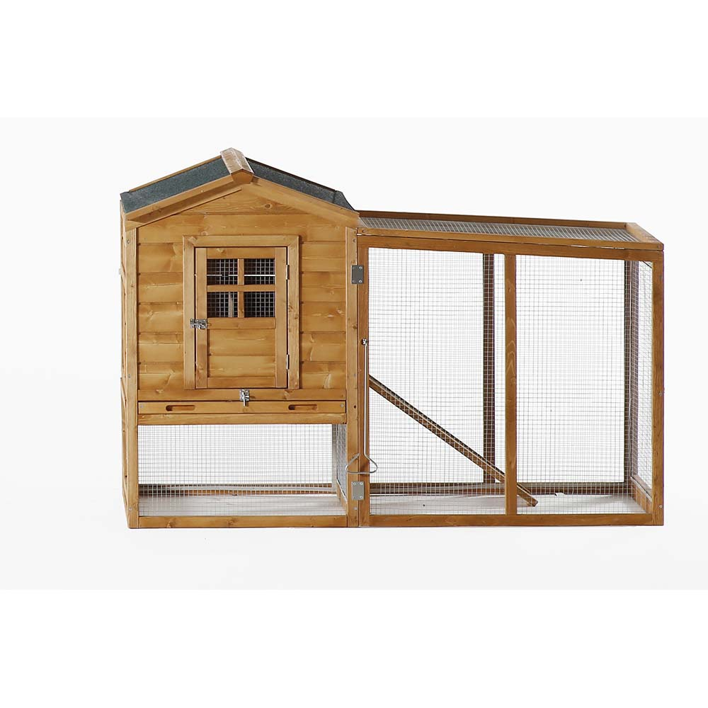 Patio Wise Modular Chicken Coop, Includes Roost & Mesh-Enclosed ...