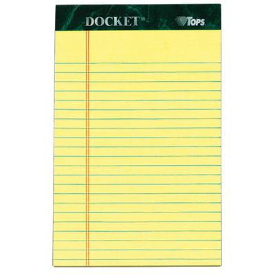 Docket Writing Tablet TOP99606
