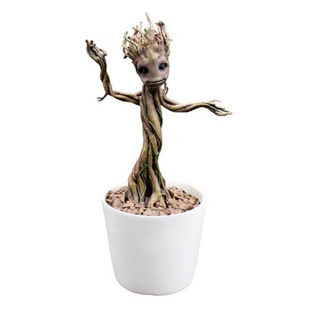 - Guardians of the Galaxy Baby Dancing Groot Premium Motion Statue Prop Replica