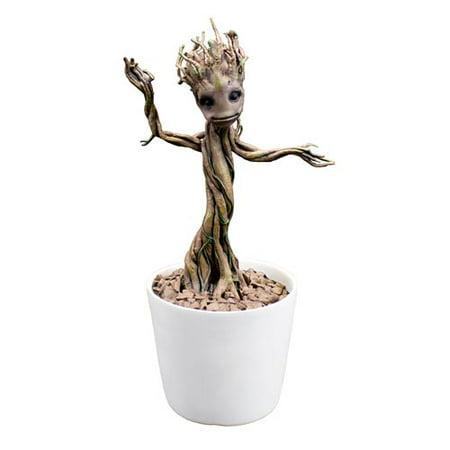 Guardians of the Galaxy Baby Dancing Groot Premium Motion Statue Prop Replica
