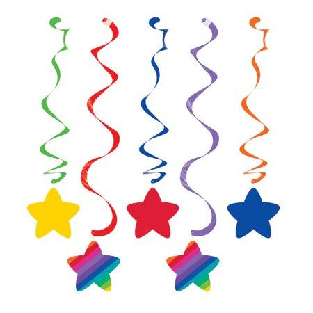 Rainbow Dizzy Danglers 5 Pack