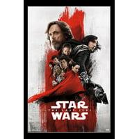 Star Wars The Last Jedi - Imax Laminated & Framed Poster Print (22 x 34)