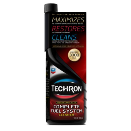Chevron Techron Complete Fuel System Cleaner 12oz Si1 Fuel System Cleaner