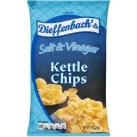 Dieffenbach's Salt & Vinegar Kettle Chips, 9 Oz.