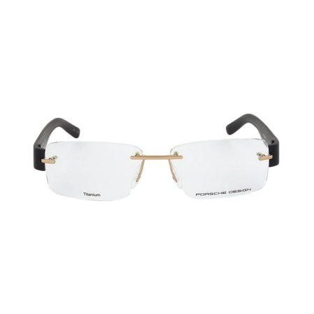 Porsche Design P8206 A Rimless | Gold/Black| Eyeglass (Eyeglass Frame Design)
