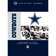 NFL: Greatest Games Series Dallas Cowboys 10 Greatest Games (Full Frame) by WARNER HOME ENTERTAINMENT